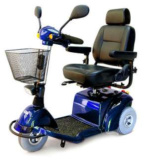 ActiveCare Pilot 3 Wheel Electric Mobility Scooter BLUE