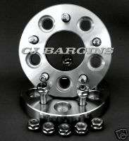 WHEEL ADAPTERS SPACERS 5 X 4 1/2 TO 5 X 5 1/2 JEEP CHEROKEE WRANGLER
