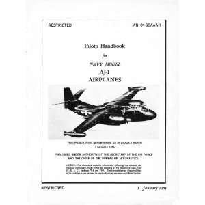 North American Aviation AJ Aircraft Flight Manual North