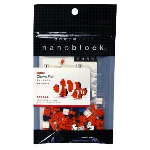 Nanoblock Animals NBC 002 Clown Fish (non LEGO): Toys & Games