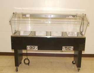 Duke Model TEHFPGM Burner Electric Steam Table Restaurant Hotel - 3 bay electric steam table