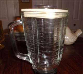 Osterizer 14 speed Blender Glass Jar Pitcher & Lid Only
