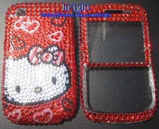hello Kitty Bling Full Case for Blackberry Curve 8520