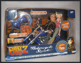 BRATZ BOYS Motorcycle Style CADE DOLL RARE TWO BRATZ DOLLS INCLUDED