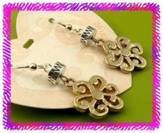 BRIGHTON VINCENTS FLOWER French Wire EARRINGS NWTag