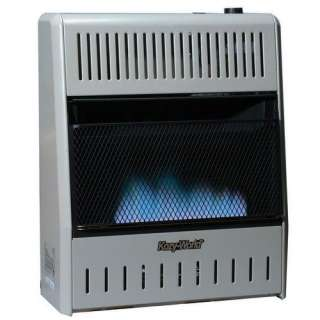 BTU Dual Fuel Blue Flame Wall Heater Heating, Cooling, & Air Quality
