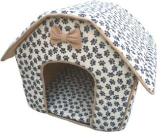 Collapsible Soft Indoor Pet Dog Cat Bed House Furniture
