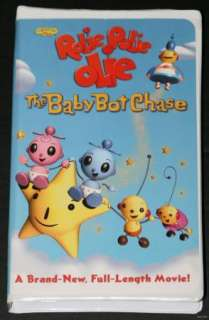 Playhouse Disney Rolie Polie Olie Baby Bot Chase VHS 786936215489