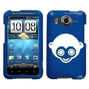 HTC INSPIRE 4G WHITE MONKEY ON A BLUE HARD CASE COVER