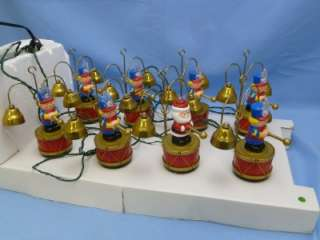 Mr Christmas SANTAS MARCHING BAND Plays 35 Christmas Carols Original