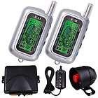 Way Car Alarm FM Remote Start + Power Door Lock Kit Truck LCD