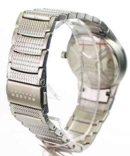 Cristales de acero del vestido para mujeres de reloj de Skagen 745SSXR