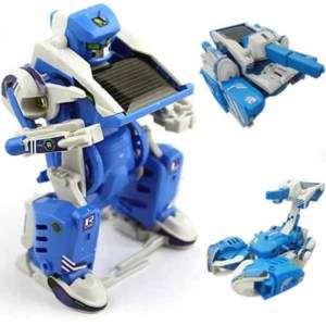 in 1 Educational DIY Solar Robot Tank Model Kit Toy