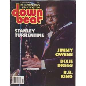Stanley Turrentine; Jimmy Owens; Dixie Dregs; B.B. King): Jack Maher
