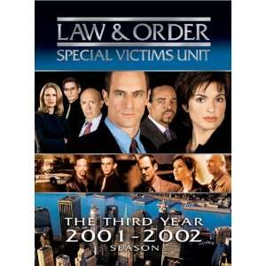Unit   The Third Season (2001 2002) Mariska Hargitay Movies & TV