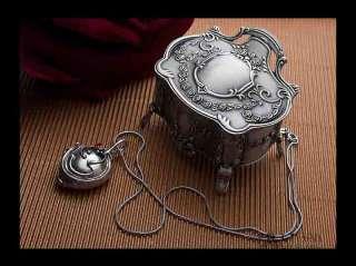 Vampire Diaries Elenas Antique Vintage Pendant Necklace Silver
