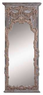 Full Length Ornate Gold Wall/Entry Mirror 29 3/4x68