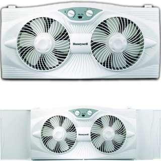 Speed Twin Window Fan ~ Honeywell Electric Portable AC Air Cooler