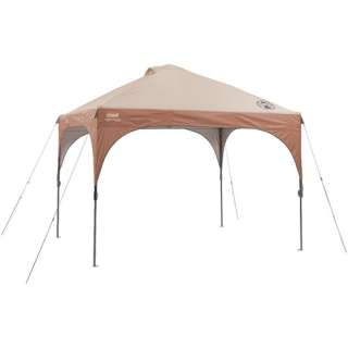 Coleman Instant Canopy with LED Lighting, 10 x 10 Camping