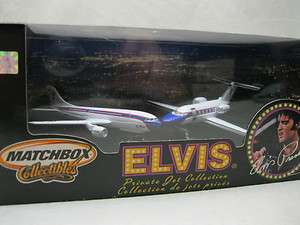 MATCHBOX COLLECTIBLES ELVIS PRESLEY PRIVATE JET COLLECTION ELVIS