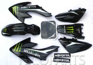 full plastics&Monster DECALS STICKERS Graphics Honda CRF50 STYLE pit