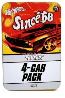 Hot Wheels SINCE 68 HOT RODS Mini Tin