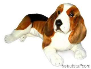 BN XLarge Basset Hound Puppy Dog Soft Stuffed Plush Toy
