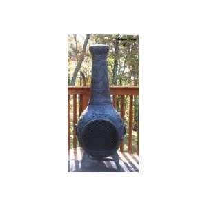 Outdoor Fireplace   Blue Rooster ALCH012 AG   Rose Chiminea Outdoor