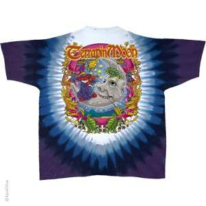 TERRAPIN MOON [11501] GRATEFUL DEAD BEARS TIE DYE T SHIRT L XL