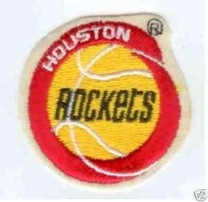 Houston Rockets NBA Basketball Pennant Patch