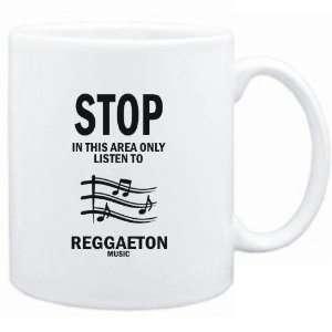 Mug White  STOP   In this area only listen to Reggaeton music  Music