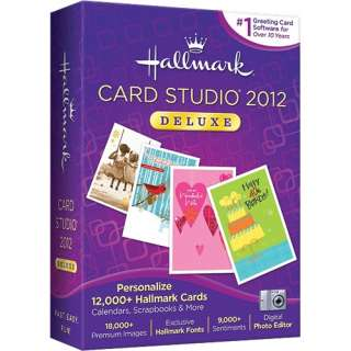 nova hallmark card studio deluxe 2012 windows pc create greeting cards