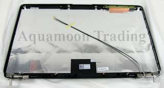 Genuine DELL LCD Top Lid Black Cover for DELL laptops. See list below