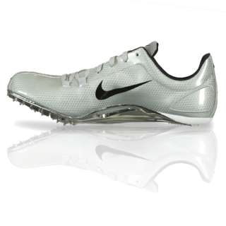 Mens NIKE ZOOM JA Track & Field Running Spike Cleats Shoes silver