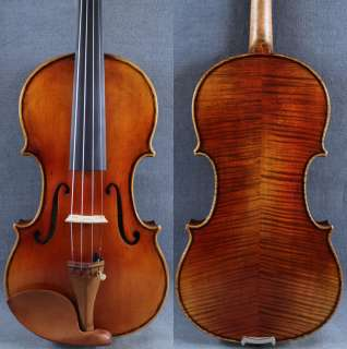 Concert Maestro Guarnieri del Gesu Violin Old spruce M2424 Antique Oil