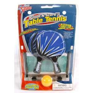 Shoot N Score Table Tennis Toys & Games