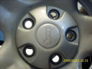 2003 Jeep Wrangler wheels & Tires   Set of 4