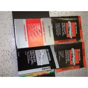 1999 Toyota Tacoma Truck Service Repair Shop Manual Set FACTORY BOOK