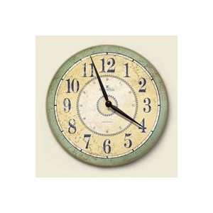 French Country 12 Wood Wall Clock